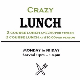 Crazy Lunch Special