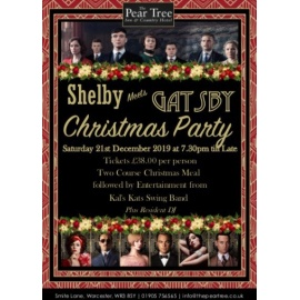 Shelby Meets Gatsby Christmas Party