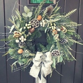 Wreath making with The Wedding House